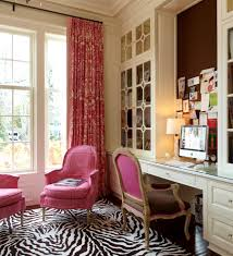 traditional office decor. Pink Office Decor Home Traditional With Bulletin Board Built-in Desk Built In Cabinets A