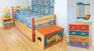 Bedroom: Best Kids Boys Bedroom Set Natural Finish With Bunk Bed And ...