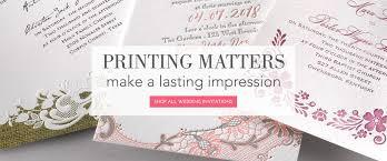 print wedding invitations. wedding invitation printing. printing matters print invitations