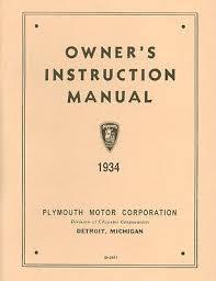 1939 plymouth passenger car owner s manual • 15 95 picclick 1934 plymouth passenger car owner s manual
