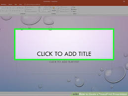 Ms Powerpoint Examples How To Create A Powerpoint Presentation With Sample