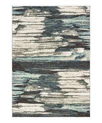 blue ivory dappled layer rug zebra target