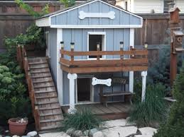 double decker dog house