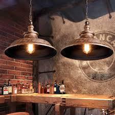 vintage industrial pendant lighting