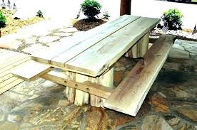 picnic table with umbrella hole picnic table size this square picnic