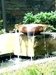 beautiful copper water fountain in twisted is elegant and