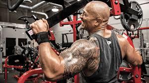 картинка дуэйн джонсон татуировка мужчины Machine The Rock Gym