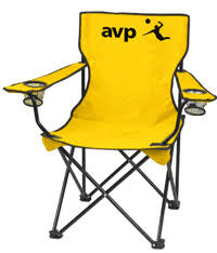 chair volleyball. this gift can always give you a chair and cup holder whether are at the beach or crowded volleyball arena with no stands. y
