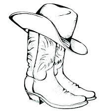 Cowboy Hat Coloring Pages Cowboy Hat Coloring Pages A Cowboy Hat