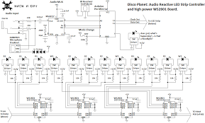 disco planet a massive rgbw led array in a 6′ globe hackaday the top half of that schematic be catered to other projects using a variety of pre built led strips the pastebin code is here fastspi led and