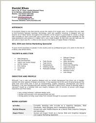 Currently Working Resume Format 129187 7 Graphic Designer Cv Pdf Ideas
