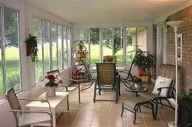 Sun porch idea for