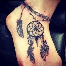 Dream Catcher Foot Tattoo Viv Crogs vivcrogstattoos Instagram photos and videos 100