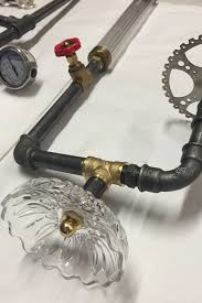 Ottawa Lighting And Plumbing Store Steampunk Glass And Plumbing Parts Lighting Feature By