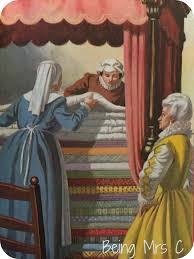 princess and the pea bed. Ladybird The Princess And Pea. Series 606D - Well Loved Tales Pea Bed