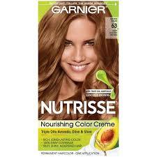 Garnier Nutrisse Permanent Hair Color 63 Light Golden Brown