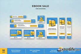 Ebook Web Ad Banner Template Xtragfx Creating The Pixels