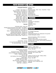 Architecture Resume Examples Landscape Architecture Resume Sample Landscaping Resume Samples 45