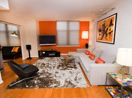 orange living room furniture. Best Dp Rachel James Orange Transitional Wide Shot Living Room H.jpg.rend. Furniture
