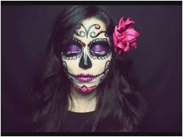 half sugar skull makeup tutorial new sugar skull makeup tutorial