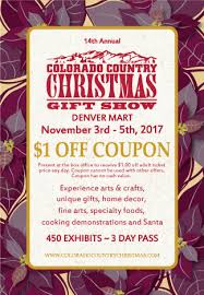 Holiday Craft Shows 2017  Mile High On The CheapCountry Christmas Craft Show Denver