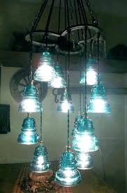 how to make a glass insulator light glass insulator lamp horse shoe and chandelier pendant light how to make a glass insulator light