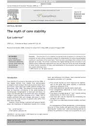 Pdf The Myth Of Core Stability