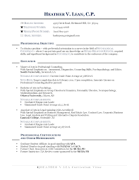 Examples Of Resumes For Teachers Changing Careers