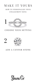 Design Your Perfect Engagement Ring Design Your Own Engagement Ring Start With A Setting Then
