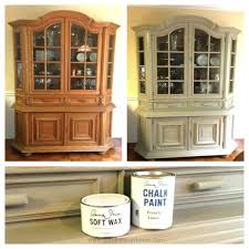 antique dining room china cabinets. china cabinet chalk paint makeover. painted hutchchina antique dining room cabinets