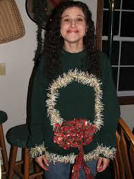10 Brilliant DIY Ideas For Your Ugly Christmas Sweater  Ugliest Ugly Christmas Sweater Craft Ideas