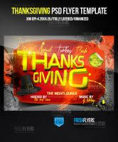 thanksgiving party flyer loud bass club flyer templates by imperialflyers on deviantart