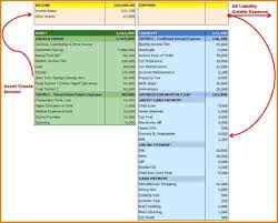 Personal Financial Statement Template Excel - Inspiration For Resume ...