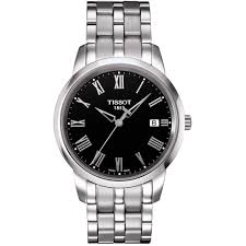 tissot men s classic dream silver bracelet watch t033 410 11 tissot men s classic dream silver bracelet watch