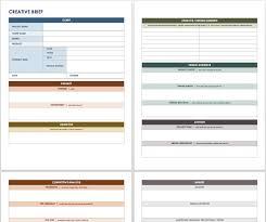microsoft office templates smartsheet creative brief template