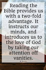 Quotes On Bible Reading
