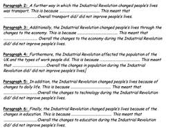 industrial revolution essay assessing the positives negative  assessment