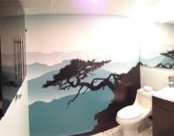 Online Get Cheap Bathroom Wallpaper Murals Aliexpresscom Bathroom Wallpaper Murals