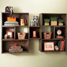 build a bunch of these diy square wall shelves for less than 100