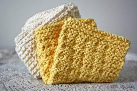 Easy Knit Dishcloth Pattern Enchanting Little Miss Stitcher 48 Free Knit Dishcloth Patterns