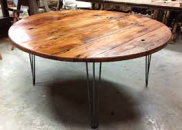 Home Ideas For > Reclaimed Wood Round Table Top