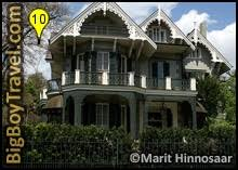 garden district new orleans walking tour map. Garden District Walking Tour Map, New Orleans, Free, Koch-Mays House Orleans Map E
