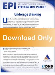 Underage Epi download Profile Alcohol Afmc Drinking -