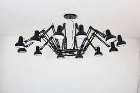Plafondlamp Design Zwart 12 Lichtpunten Scaldare Doues A Tot Z Led