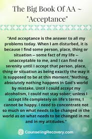 Learning Acceptance Positive Thinking Codependency Recovery