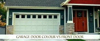 interior garage door paint ideas red colors tips for choosing light out on sensor