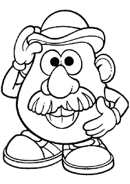 mr and mrs potato head coloring pages. Plain Potato Mr Potato Head Coloring Pages Page Awesome And Mrs   To Mr And Mrs Potato Head Coloring Pages P