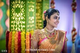 Amazing ideas indian bridal jewellery designs Sarees Bridal Gold Antique Jewellery Designs South India Jewels South India Bride In Gold Antique Jewelleries South India Jewels