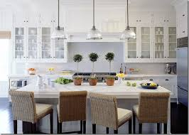 I Love The Look Of A Crisp All White Kitchen. The White Dishware Continues  The All White Scheme And Adds Interest While The Glass Front Cabinets Add  Space ...