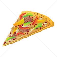 pizza slice graphic.  Slice Vegetable Pizza Slice Vector Graphic For Pizza Slice Graphic I